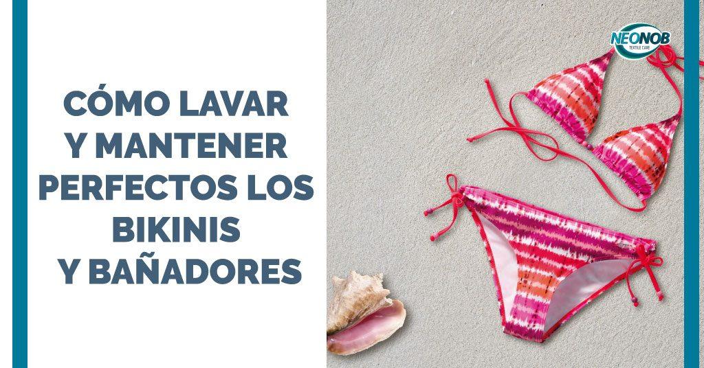 Cómo lavar bañadores y bikinis para mantenerlos perfectos