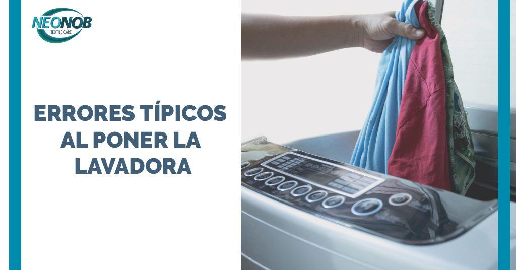 Los errores más comunes en el lavado de la ropa