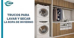 Trucos para lavar y secar la ropa de invierno