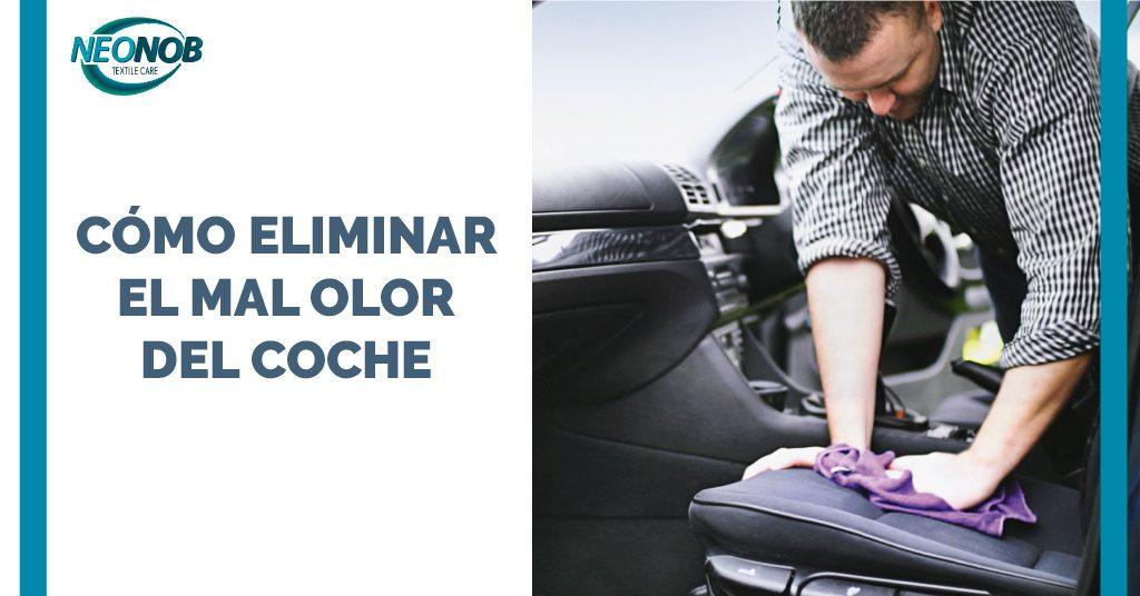 ¿Cómo eliminar el mal olor del coche?