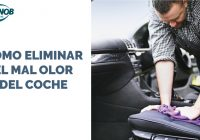 Cómo eliminar el mal olor del coche.