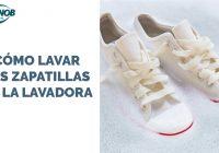 Cómo lavar las zapatillas en la lavadora. Tip extra: lavar las zapatillas a mano.