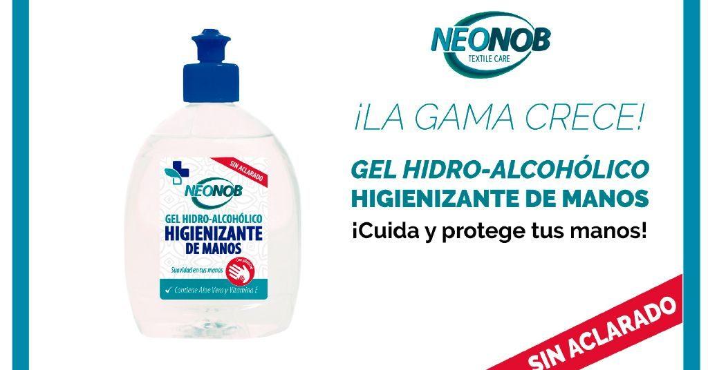 Nuevo producto Neonob: Gel higienizante de manos