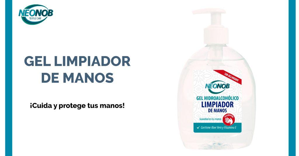 Nuevo producto Neonob: Gel Limpiador de manos