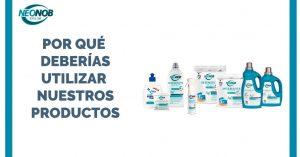 Promoción productos Neonob