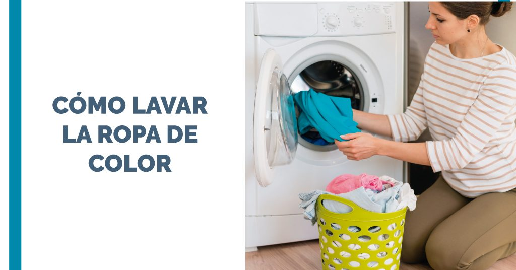 Cómo lavar la ropa de color