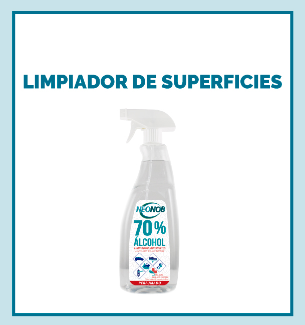 LIMPIADOR SUPERFICIES PERFUMADO 70% ALCOHOL
