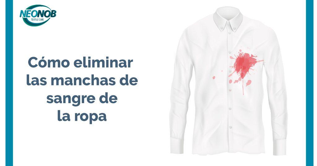 Cómo limpiar las manchas de sangre de la ropa